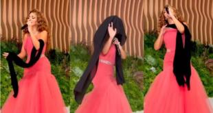 ميريام فارس ترقص السامري بأحد أفراح العوائل الخليجية