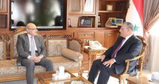 مناقشات سورية لبنانية لتطوير العلاقات الاقتصادية